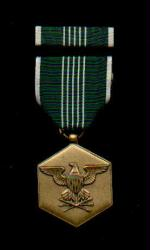 Army Commendation Medal with Ribbon Bar